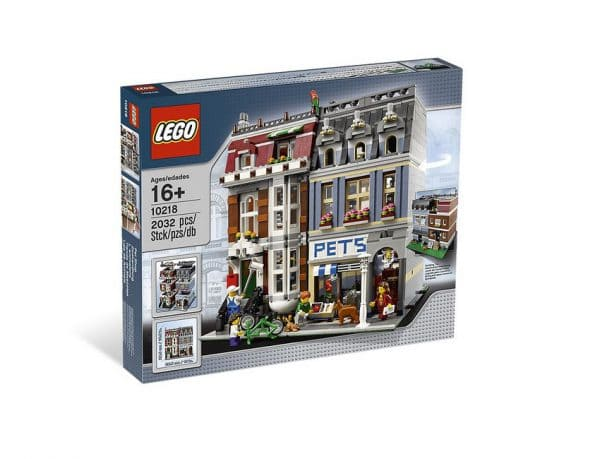 Set LEGO Pet Shop 10218